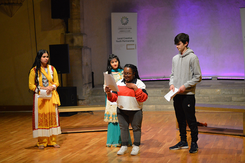 Reading of Six Polar Bears Fell out of the Sky by Alister Emerson, Limerick and Clare Local Creative Youth Partnership,.jpg
