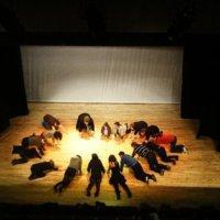 "Mayo Youth Theatre, Ballina Arts Centre-rehearsals-""broken town"""