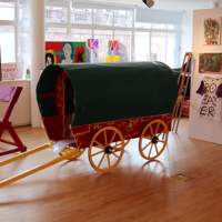 Clonmel Youth Diversion Project-Item01-Traveller Wagon Carpentry Project